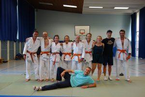 Ü 30 Judo Training